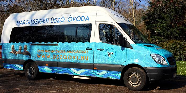 Úszó Pingvin Magánóvoda - Buszos szállítás